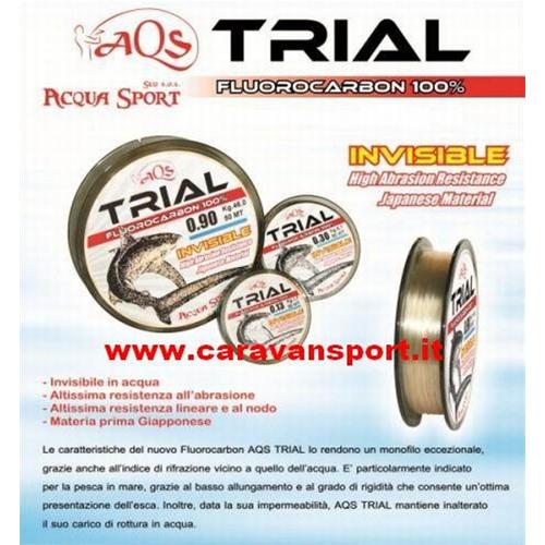TRABUCCO DIAMOND FLUOROCARBON FC-X 0,24 Filo da Pesca