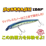 Scarnash 120 F BlueBlue