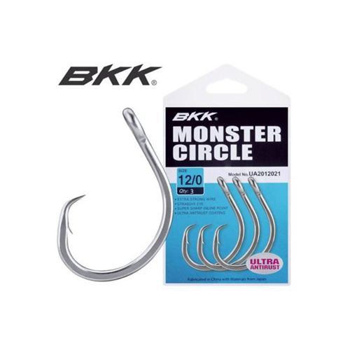 BKK Titan Worm Hook 9006 HI Carbon Steel Hecht Raubfisch Haken