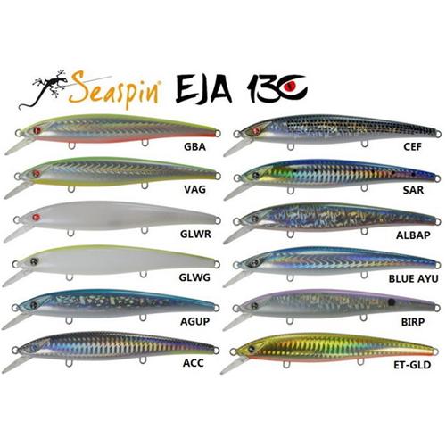 SEASPIN Ketc BR Esca artificiale da pesca 60 g
