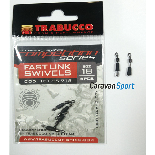 30x Quick Change Fishing Swivels Clips Pin Fast Link Line Connector 14//15//16.5mm
