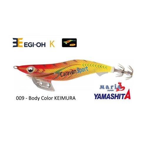 NEW YAMASHITA EGI-OH K HYDRO FIN BODY COLOR 3.0 16gr COL 008